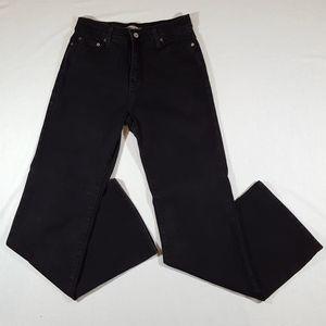 Levi's 512 Black Bootcut Jeans- Womens 10 M
